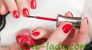 Как нанести лак для ногтей фото