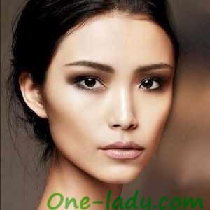 Азиатский макияж фото
