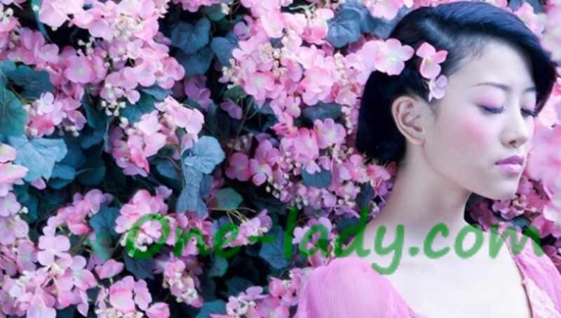 Японский макияж фото