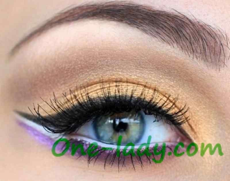 Арабский макияж фото