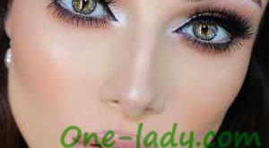 Макияж для увеличения глаз фото