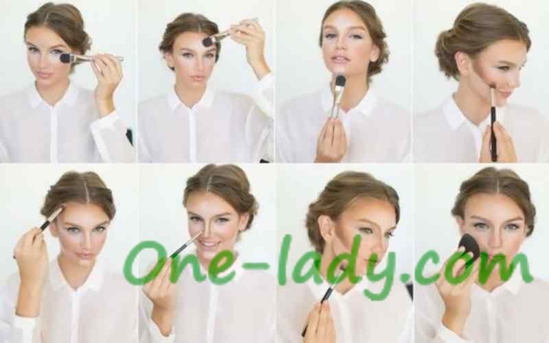 Контурирование лица пошагово фото-урок фото