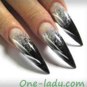 Дизайн ногтей стилет фото