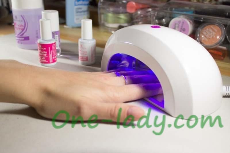 Вреден ли гель лак для ногтей и сушка фото