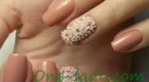 Лепка на ногтях фото
