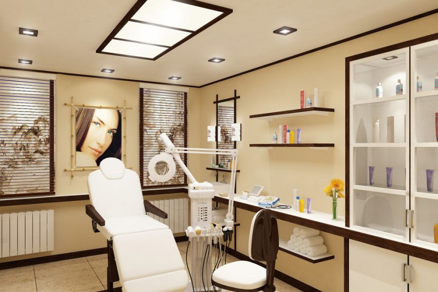 Освещение рабочего места косметолога