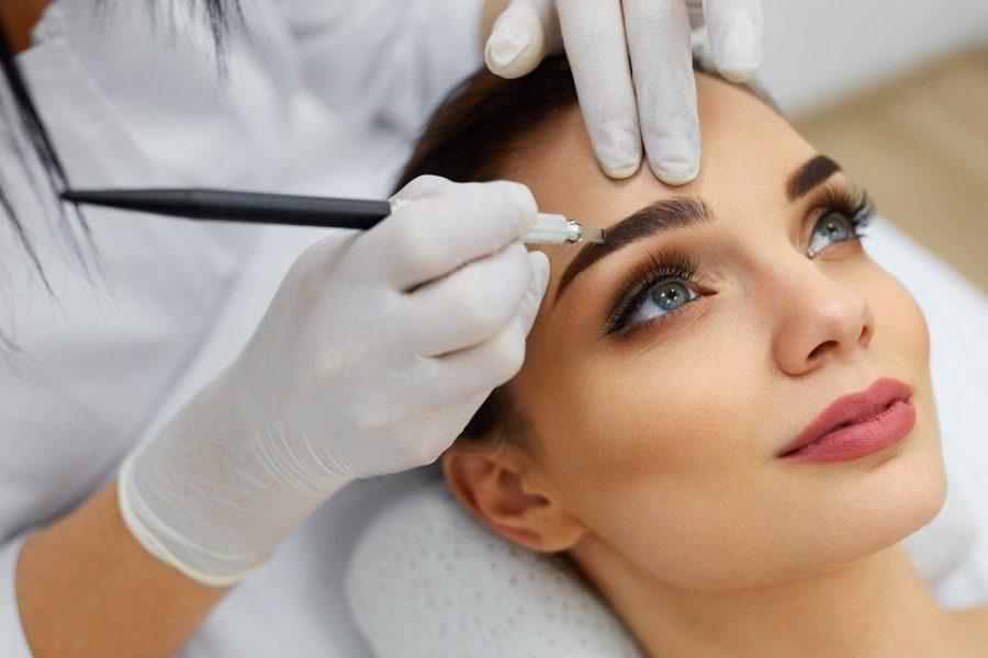 Перманентный макияж глаз, предостережения и уход