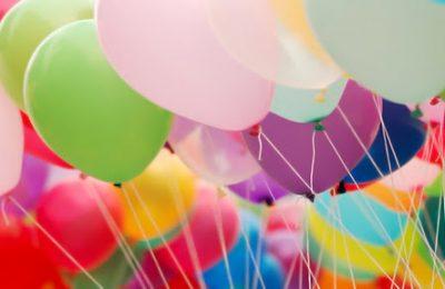 Оформление воздушными шариками городского праздника