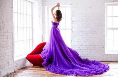 Преимущества аренды платья