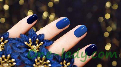 Новогодний дизайн ногтей: сказка о принцессе